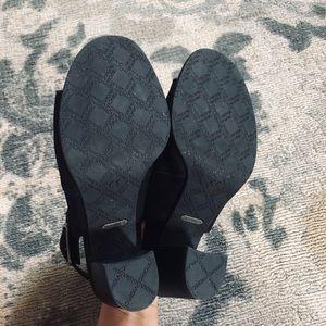 Vionic Shoes - Vionic Perk Blakely Bootie Shootie Wedge Heel Peep